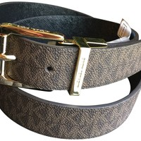 MICHAEL Michael Kors Reversible Belt (Large)