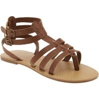 Old Navy Girls Gladiator Thong Sandals