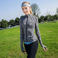 Long Sleeve Women's Activewear Sweater