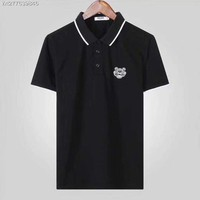 KENZO 2018 Spring and summer nwe business leisure lapel T-shirt polo shirt ღ018