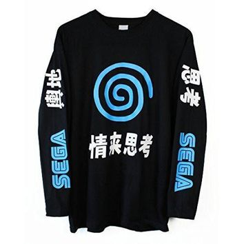 ca auguau Dreamcast Japanese Long Sleeve T-Shirt
