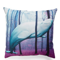 Nautical You Gotta Beluga Pillow by ModCloth