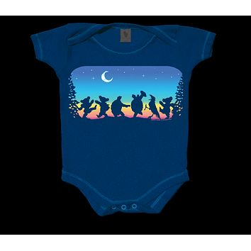 Grateful Dead Moondance Infant Snapsuit
