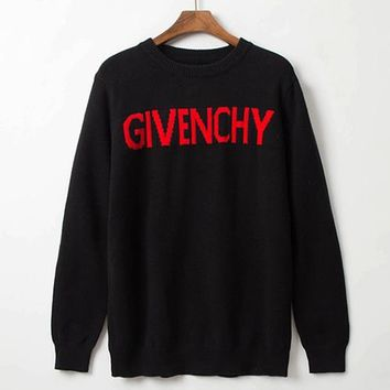 Boys & Men Givenchy Fashion Casual Top Sweater Pullover Knitwear