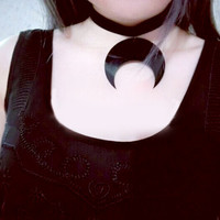 Japanese Black Sailor Moon Choker