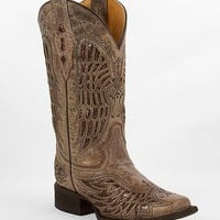 Corral Wing Square Toe Cowboy Boot