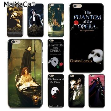 MaiYaCa The Phantom of the Opera  Drawing TPU  soft phone case for Apple iPhone 8 7 6 6S Plus X 5 5S SE 5C Cover