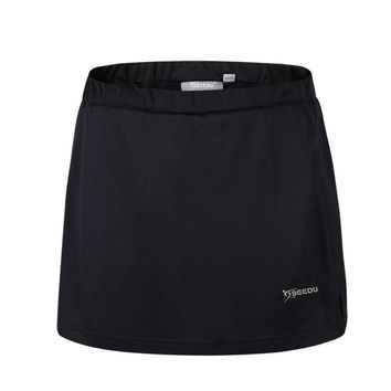 New Summer Quick-Dry Recreational Skirt Campaign Solid Tennis Skort Volleyball Skirts for Girls With Safety Pants