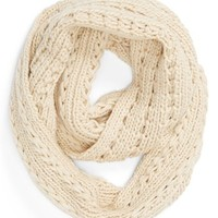 Lulu Cable Knit Infinity Scarf | Nordstrom