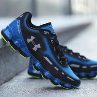Best Deal Online Under Armour UA Scorpio Men Running Shoes Black Blue White