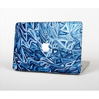 The Abstract Blue Water Pattern Skin for the Apple MacBook Air 13""