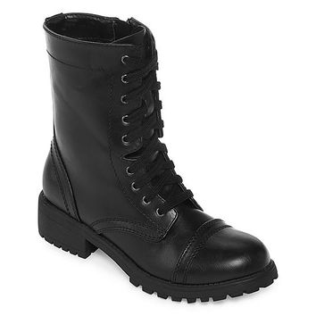 Arizona Jones Womens Combat Boots - JCPenney