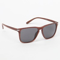 PacSun Varsity Woodgrain Sunglasses at PacSun.com