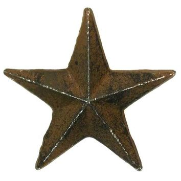 Cast Iron Nail Star Medium -Set Of 12