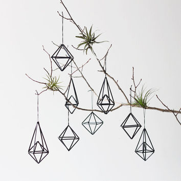 modern himmeli ornaments / set of 8 / hanging mobile