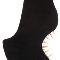 Black Smooth Velvety Platform Spiked Curved Wedges @ Amiclubwear Wedges Shoes Store:Wedge Shoes,Wedge Boots,Wedge Heels,Wedge Sandals,Dress Shoes,Summer Shoes,Spring Shoes,Prom Shoes,Women's Wedge Shoes,Wedge Platforms Shoes,floral wedges,Fashion Wedge Sh
