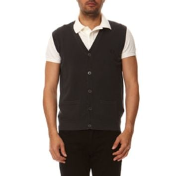 Fred Perry Mens Waistcoat 30402103 E135
