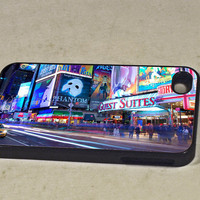 New York Times Square iPhone 4 / 4S Bumper Case Cover by ZenMayhem