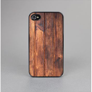 The Bright Stained Wooden Planks Skin-Sert Case for the Apple iPhone 4-4s