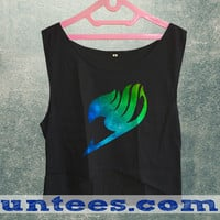 Fairy Tail Womens Crop Tank