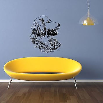 Golden Retriever Dog Puppy Breed Pet Animal Family Wall Sticker Decal Mural 2781