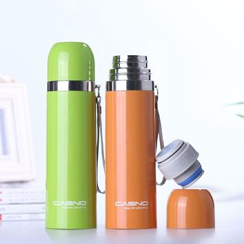 High Quality 500ML Thermos Cup Vacuum Cup Double Wall Insulated Stainless Steel Water Bottle Vacuum Flask Travel Coffee Mug