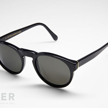 retroSUPERfuture Paloma Black Sunglasses
