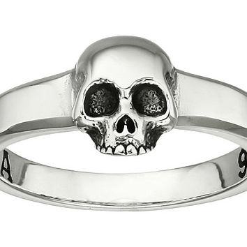 King Baby Studio Hamlet Skull Ring Silver - Zappos.com Free Shipping BOTH Ways