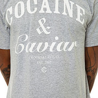 Crooks and Castles The Coca Caviar Tee in Heather : Karmaloop.com - Global Concrete Culture