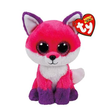"Ty Beanie Boos 6"" Joey the Fox Plush Beanie Baby Plush Stuffed Collectible Soft Big Eyes Plush Doll Toy"