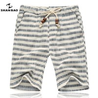 Stripe Men's Beach Shorts