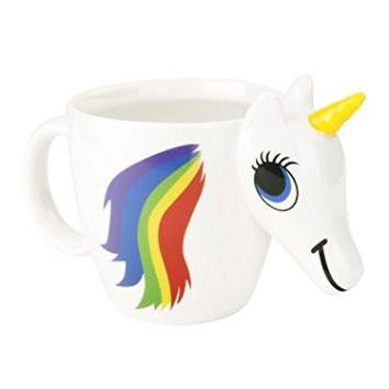 Original 3D Unicorn Color Changing Ceramic Coffee Tea Mug Multi Colour Cup
