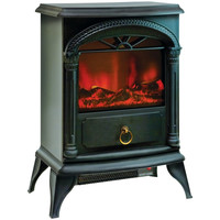 "Comfort Zone 21.5"" Fireplace Electric Stove"