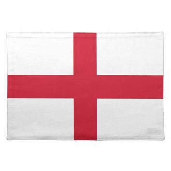 England Flag on MoJo Placemat