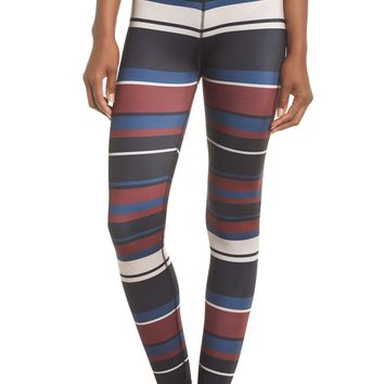 Beyond Yoga Stripe Lux High Waist Leggings | Nordstrom