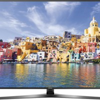 "Samsung - 49"" Class - (48.5"" Diag.) - LED - 2160p - Smart - 4K Ultra HD TV - with High Dynamic Range - Black"
