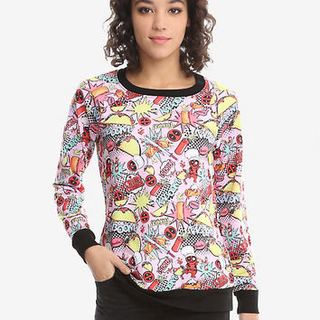 Marvel Deadpool Kaboom Sweatshirt