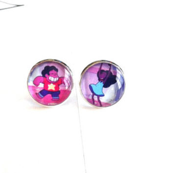 ON SALE - Made To Order - Steven Universe & Connie Dancing Earrings