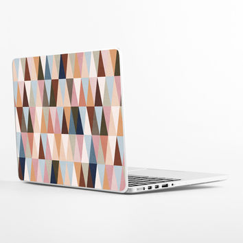 Earth Triangles Laptop Skin