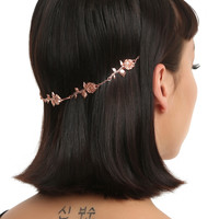Disney Beauty And The Beast Rose Gold Hair Chain