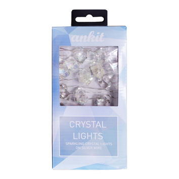 Crystal Blue String Lights