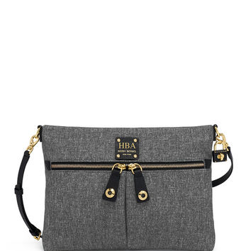 Jetsetter Convertible Canvas Messenger