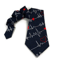 #Doctor #tie, #DR tie, #surgeon #nurse #hospital #heartbeat #graduationtie, #medicaltie, #medical #parametic