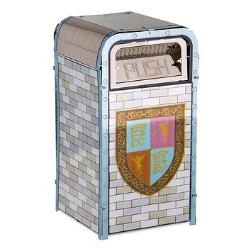 Disney Parks Fantasyland Trash Can Metal Earth Metal Model Kit 3D New