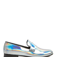 Shiny Mirror Leather Slippers by CB Made in Italy