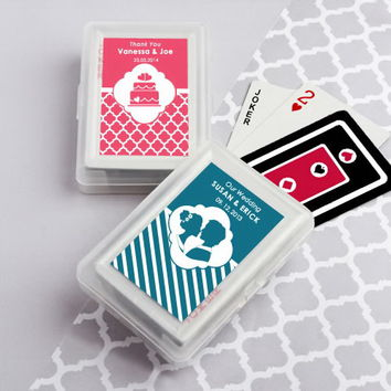 Opentip.com: FashionCraft 6704ND_Wed Simply Stylish Playing Card Favors