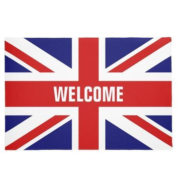 Autumn Fall welcome door mat doormat New Hot British Union Jack Flag Welcome  Union Jack England Flag Mats for Living Room Bedroom Home Shop Rug Carpet Funny AT_76_7