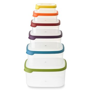 Joseph Joseph Nest Food Storage Containers, 12-Piece Set