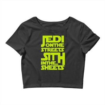 Jedi On The Streets Sith In The Sheets Crop Top