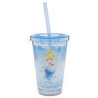Disney Cinderella Tumbler With Straw -- Small | Disney Store